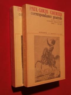 Correspondance générale, 2 tomes (1787-1807 / 1808-1814)