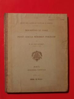 Description et usage du petit cercle méridien portatif