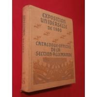Exposition universelle de 1900, catalogue officiel de la section allemande