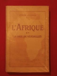 L'Afrique et la paix de Versailles