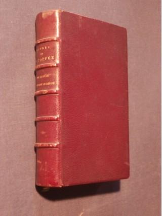 Une idylle pendant le siècle, contes en prose