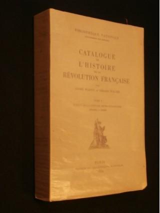 Catalogue de l'histoire de France, tome 1