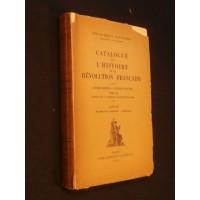 Catalogue de l'histoire de la révolution française, tome 4