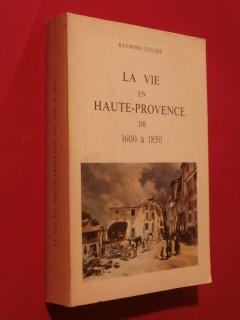 La vie en Provence de 1600 à 1850