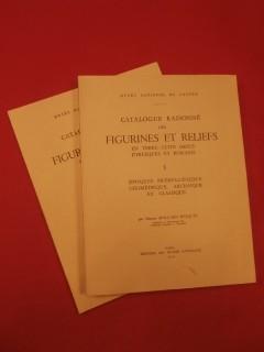 Catalogue raisonné des figurines et reliefs en terre cuite grecs, étrusques et romains, 2 tomes