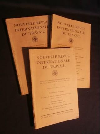 Nouvelle revue internationale du travail, 3 numéros