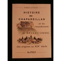 Histoire de Chapareillan et du mandement de Bellecombe