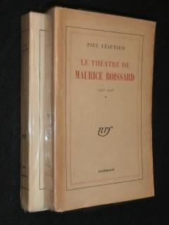 Le téâtre de Maurice Boissard