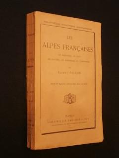 Les alpes françaises, les montagnes, les eaux, les glaciers, les phénomènes de l'atmosphère
