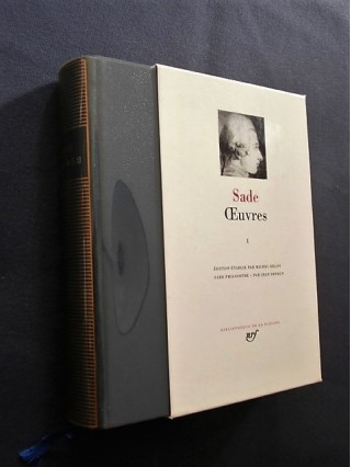 Oeuvres, tome 1, sade