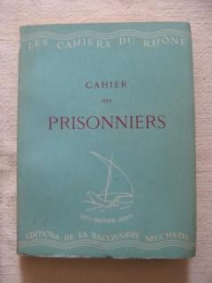 Cahier des Prisonniers