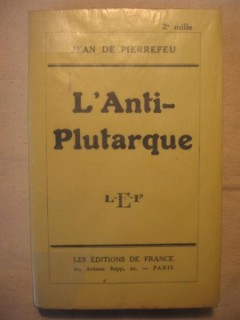 L'anti-Plutarque