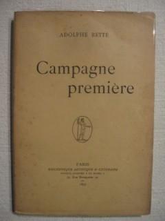 Campagne première