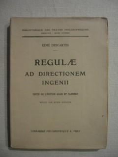 Regulae ad directionem ingenii