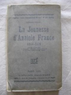 La jeunesse d'Anatole France (1844-1876)