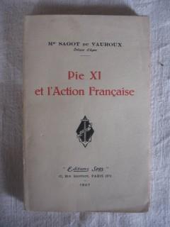 Pie XI et l'action française