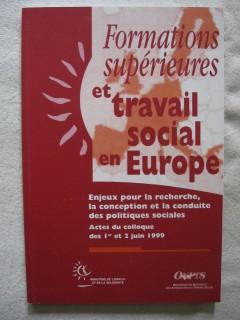 Formations supérieures et travail social en Europe