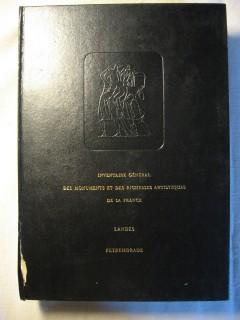 Inventaire générale des monuments et des richesses artistiques de la France, Landes, Peyrehorade