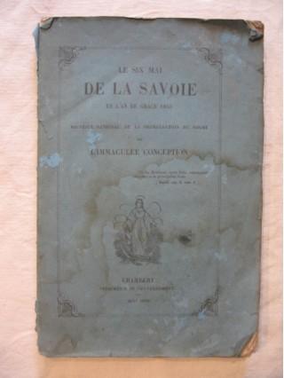 Le six mai de la Savoie en l'an de grâce 1855