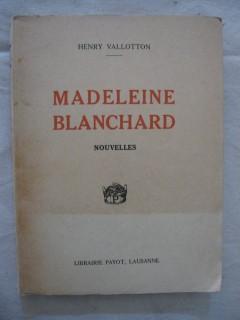 Madeleine Blanchard