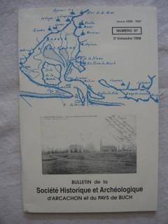 Bulletin de la société historique et archéologique d'Arcachon et du pays du Buch, n°97