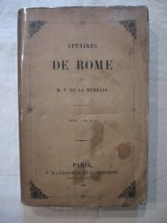Affaires de Rome