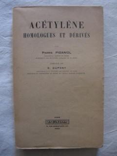 Acétylène homologues et dérivés
