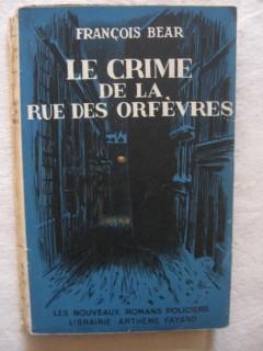 Le crime de la rue des orfèvres