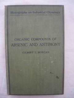 Organic compounds of arsenic and antimony