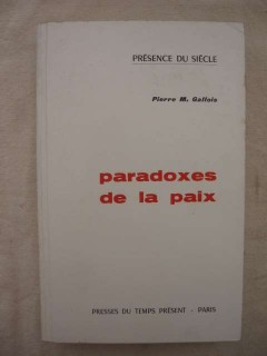 Paradoxes de la paix