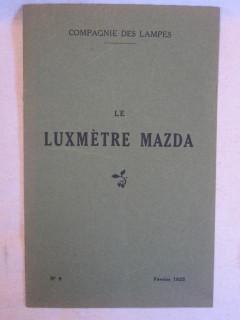 Le luxmètre Mazda