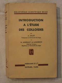 Introduction à l'étude des colloïdes
