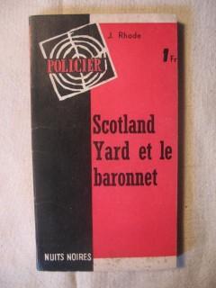Scotland Yard et le baronnet