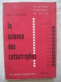 La science des catastrophes