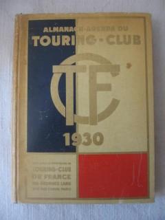 Almanach agenda du touring club de France