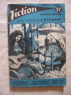 Fiction, revue littéraire de l'étrange n°57
