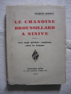 Le chanoine Broussillard à Ninive