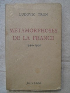 Métamorphoses de la France (1950-1970)