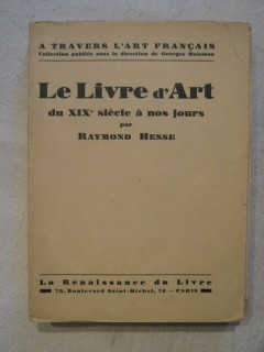Le livre d'art du XIXe siècle à nos jours