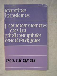 Fondements de la philosophie ésotérique