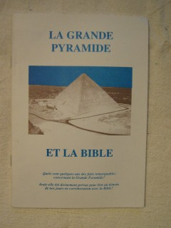 La grande pyramide et la bible