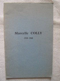 Marcelle Colly (1918-1968)