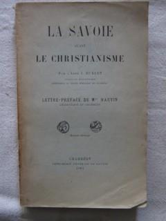 La Savoie avant le christianisme