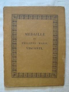 Médaille de Philippe Marie Visconti