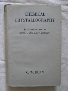 Chemical crystallography
