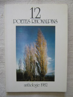 12 poètes rhonalpins