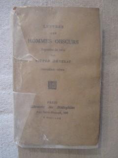 Lettres des hommes obscurs, troisième série