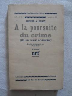 A la poursuite du crime