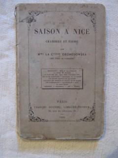 Une saison à Nice, Chambéry et Savoie