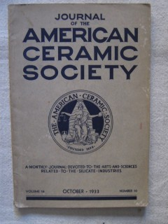 The journal of the american ceramic society